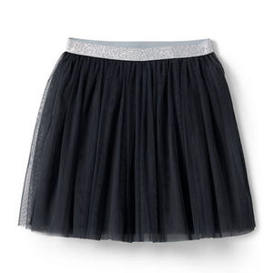 Lands' End Bottoms - NWT Lands' End Black Tulle Skirt Size 6X-7